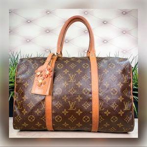 Authentic Louis Vuitton Boston Sac Souple 35 Bag